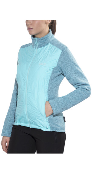 Jack Wolfskin Caribou Crossing Track Jacket Women icy water